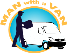 man with a van glasgow logo